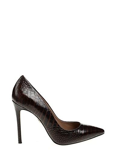 Divarese Topuklu ayakkabı Taba